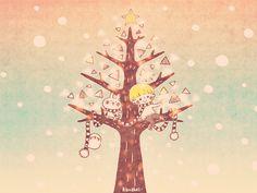 雪とツリーとぼくたち3 ■ カナヘイの家