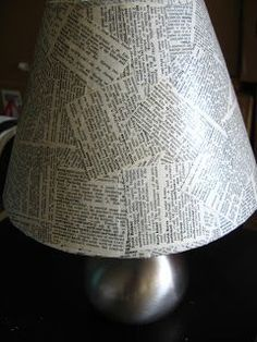 Mari Makes: Budget Anthropologie Tutorial: Well Defined Lampshade