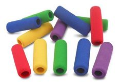 The Classics 12-Pack Soft Foam Pencil Grips Assorted Colors 1.5-Inch Long TPG... #ThePencilGrip