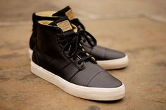 ADIDAS Ransom Army Mid - Black leather | Sneaker | Kith NYC