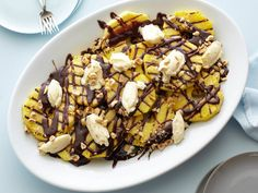 Grilled Pineapple with Nutella Recipe : Giada De Laurentiis : Food Network