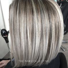 Smokey Blonde via @hairontheboulevard using #luxurycolour. Head over to our Facebook for the full formula. #hair #blonde #hairstyles #hairtrends #theNAKcollective #NAKhair