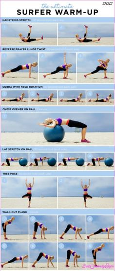The Surfer's Workout - http://bestcelebritystyle.com/the-surfers-workout/