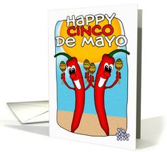 Cinco De Mayo card by Moonlake Designs