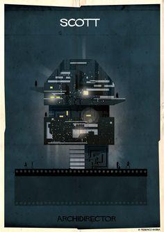 """ #RidleyScott "" ✎ (Archdirector collection by Federico Babina) #creativity #design"