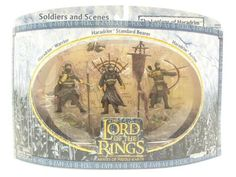 2004 - New Line / Play Along - Lord of the Rings : Armies of Middle Earth - The Legions of Haradrim Set :   Christmas gift for Harradrim and Lord of Rings collector.