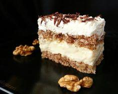 Prajitura cu nuca si crema de vanilie Cream Cheese Flan, Condensed Milk Cake, Romanian Desserts, Cake Recipes, Dessert Recipes, Homemade Biscuits, Always Hungry, Diy Food, Delicious Desserts