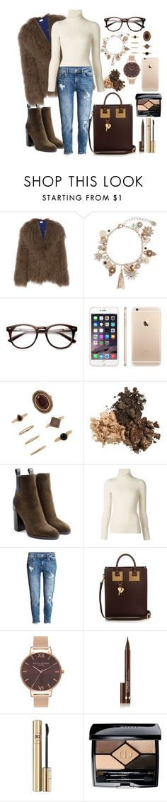 """""""Untitled #442"""" by mayer-fruzsina ❤ liked on Polyvore featuring Saks Potts, Accessorize, Forever 21, Sergio Rossi, Emanuel Ungaro, H&M, Sophie Hulme, Olivia Burton, Clinique and Christian Dior"""