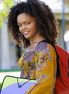25 Back to School Styles From Kindergarten to College for Natural Hair - TGIN Black School Girl, Natural Hair Care, Natural Hair Styles, Hair Vector, Naturally Beautiful, School Fashion, Girl Hairstyles, Afro, Back To School