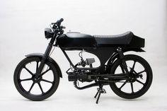 "NATHAN KIEHN # 1980 G-3 Sachs 5052B, 80cc ""Black Rider"" Moped"