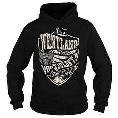 I Love Its a WENTLAND Thing (Eagle) - Last Name, Surname T-Shirt T-Shirts