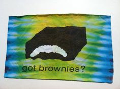 T Shirt Logo  Got Brownies by IdleHandsYarnSupply on Etsy, $2.50