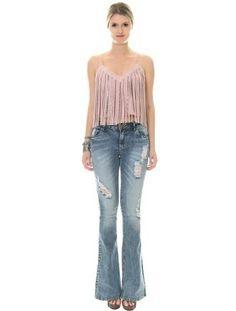 Regata com jeans