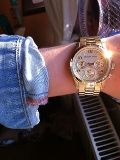 #Jewelry #Accessories #Accessory #Gold #Watch #MK #Michael #Kors #MichaelKors