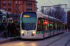 Paris, février 2013, le Tram T3b Porte des Lilas 7