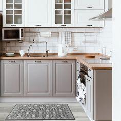 Home Renovation Kitchen Nicole Miller Cloudwalk Kitchen Mat Küchen Design, Home Design, Layout Design, Design Ideas, Design Trends, Design Inspiration, Design Styles, Kitchen Mat, Diy Kitchen