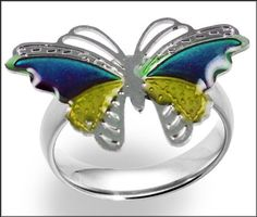 Magic Butterfly Adjustable Size Mood Ring (One Size Fits All) by BeWild. $1.99. Magic Butterfly Mood Ring. Mood rings have captivated generation with their seemingly amazing ability to determine a persons mood at any given time! These rings are just as amazing, memorizing and stylish as they were when they were first made popular with the baby boomer hippie generation of the 1960's. Each ring features a stylish silver Butterfly band which is adjustable to fit all...
