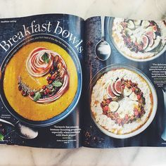 #thank you @leah.hyslop for the beautiful page! In the new issue of @sainsburys #sainsburysmagazine with Bursting with fresh ideas including a Ghanaian feast from @ghanakitchen spud recipes from @thaneeprince breakfast bowls from @madeleine_shaw_ @saladpride @honestlyhealthy @rawveganblonde plus 2017 trend spotting from @fri_child @kplunketthogge and more. #food #foodstagram #magazine #yummy #delicious