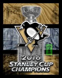 A personal favorite from my Etsy shop https://www.etsy.com/listing/386223664/pittsburgh-penguins-2016-stanley-cup