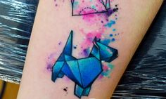 Inspiring+Geometric+Tattoo+Ideas+for+Dog+Lovers