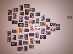 wall art heart college for room decor!