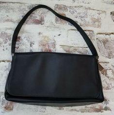 fc96d42a5e2 vintage Coach Shoulder bag Handbag 9179 Black Leather Flap  Coach   ShoulderBag Casual Clothes