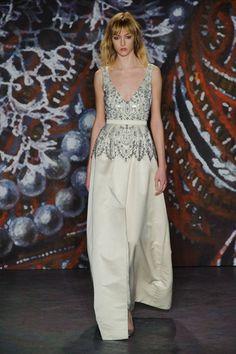 Jenny Packham at New York Fashion Week Fall 2015 | Stylebistro.com