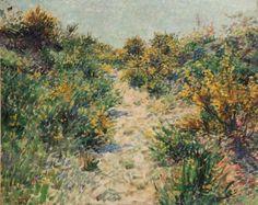 Hendrik Jan Wolter (Amsterdam 1873-1952 Amersfoort) | Flowering broom Painted in 1900 oil on canvas | 19th Century, Paintings | Christie's