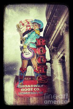 Broadway Boots - Nashville by Debra Martz www.debramartz