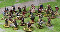 Norse Gael warband for Saga miniatures game
