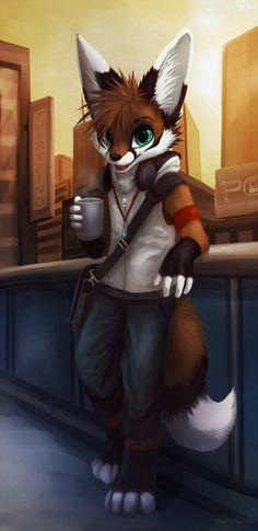 Coffee u want? v2 by thanshuhai.deviantart.com on @DeviantArt