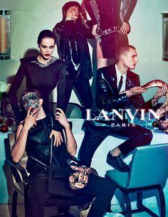 Lanvin SS 2012 campaign, Steven Meisel.