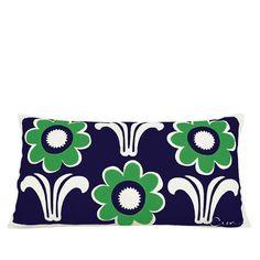 Daisy Deco Lumbar Pillow