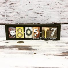Save-the-date custom wood signs feature my original alphabet photography. They are great for engagement photos, wedding decor, gifts for the couple & anniversaries, too!  ( in color or black & white numbers ).