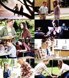 "Screen shots of ""Flipped"". After secretly wanting to watch this movie for years, I finally did. And it was perfect."