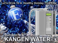 HAVE A KANGEN WATER KRISTMAS! If you are not serving this water on your holiday table then you are not serving your family and guests the very best. Kangen Water Benefits, Kangen Water Machine, Water For Health, Holiday Tables, Drinking Water, Best Gifts, Let It Be, Sayings, Drinks