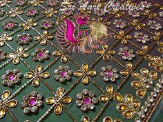 For orders contact Sri Aari Creatives - 9842995293