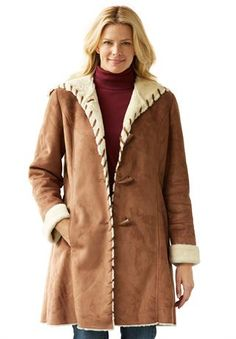Woman Within: Plus-size coats