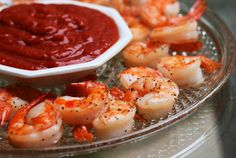 An elegant spin on the classic appetizer, you'll love the simplicity of Roasted Shrimp Cocktail! This is always a party favorite, plan on making extra.