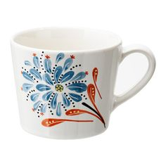 IKEA - FINSTILT, Mug, Unique dinnerware with patterns, details and raised reliefs that exude tradition and craftsmanship.