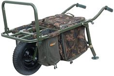 Fox Specimen Explorer Barrow , The unique Explorer Barrow has been designed to be one of the most versatile carp barrows ever released onto the market. Designed with the day session. Wilderness Survival, Survival Tools, Carp Rigs, Carp Tackle, Fishing Tackle Shop, Ted, Camo Bag, Hook And Tackle, Bag Rack