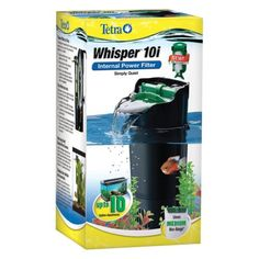 10 Ten Gallon Tank Filter Canister Water Aquarium Filtration Fish Turtle Reptile - http://pets.goshoppins.com/reptile-supplies/10-ten-gallon-tank-filter-canister-water-aquarium-filtration-fish-turtle-reptile/