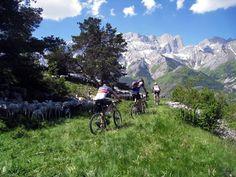 Mountain biking in Champsaur & Valgaudemar, France