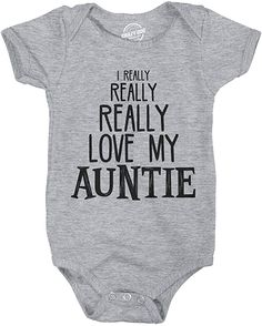 Mom And Baby, Baby Love, Auntie Baby Clothes, Funny Baby Shirts, Hunting Baby, Cute Baby Gifts, Aunt Gifts, Toddler Gifts, New Baby Products