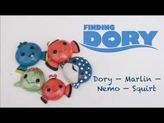 Kawaii Finding Nemo Charms polymer clay tutorial Part 1
