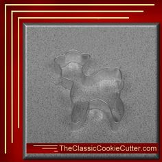This is a 3.75 Standing Lamb. It is 1 inch high. This cookie cutter is $1.50. Don't forget to like us on Facebook. #CookieCutters #kitchen #Bake #Cookies #Shape #Mold #Dessert #Sugar #TheClassicCookieCutter.com Animal Cookie Cutters, Easter Cookie Cutters, Christmas Cookie Cutters, Easter Cookies, Christmas Cookies, Pirate Cookies, Leaf Cookies, Valentines Day Cookies, Bugs And Insects