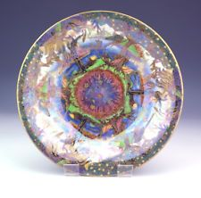 Antique Wedgwood Pottery Daisy Makeig-Jones Fairyland Lustre Bowl - Beautiful!