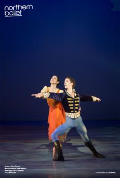 Martha Leebolt and Tobias Batley as Cinderella and Prince Mikhail. Photo Bill Cooper. northernballet.com/cinderella