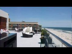 Rooftop of the Allegria hotel located in Long Beach, LI, NY.