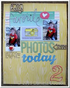create your everyday: { Scrapbook Circle April kit–Happy Place }